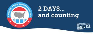 National Voter Registration Day is On Tuesday!